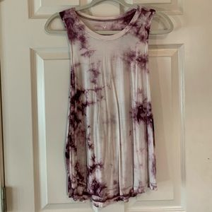 Soft and Sexy Tie Dye Tank Top